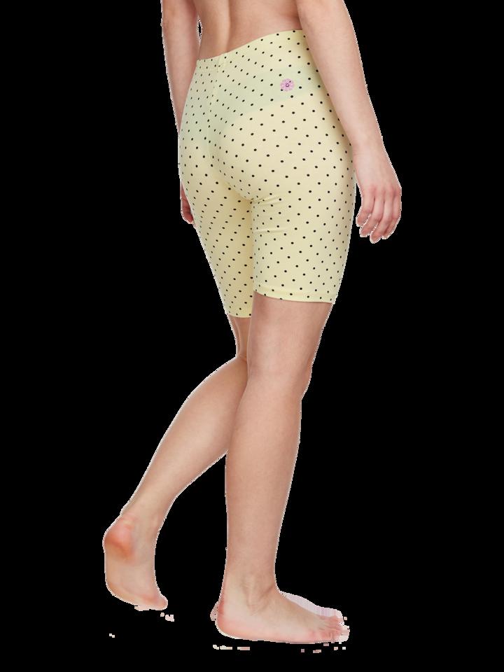Potešte sa týmto kúskom Dedoles Yellow Cycling Shorts Dots