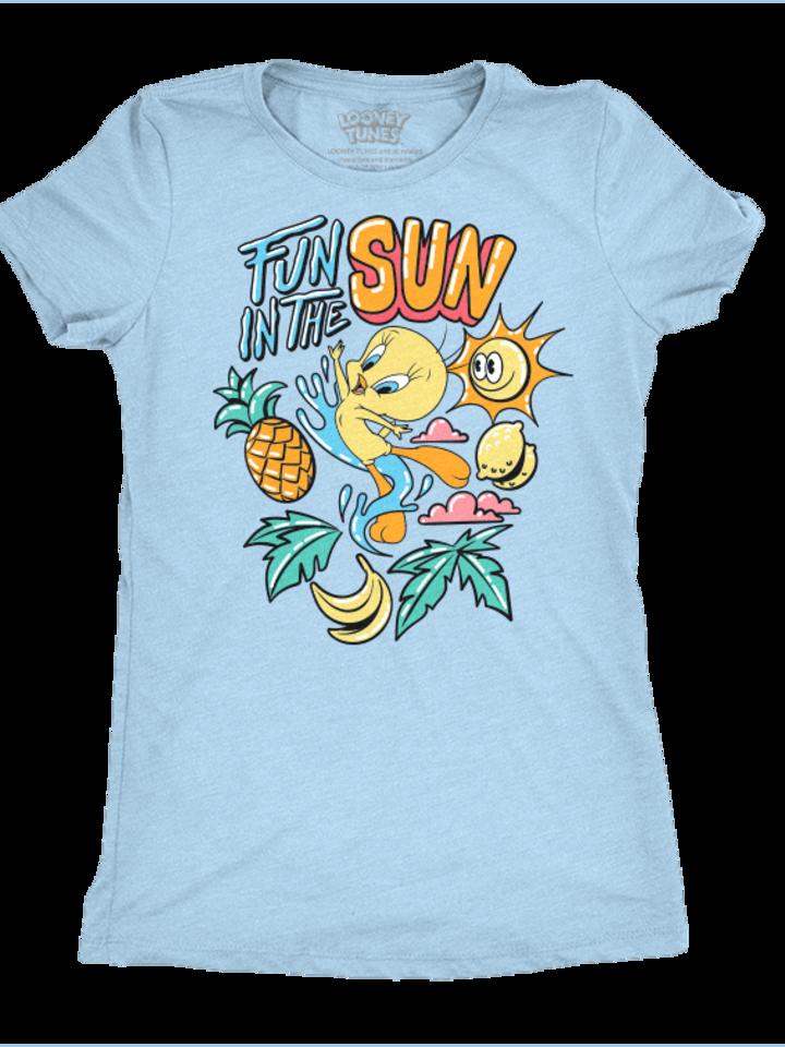 Obrázok produktu T-Shirt pour femmes Looney Tunes™ - L'amusant Tweety