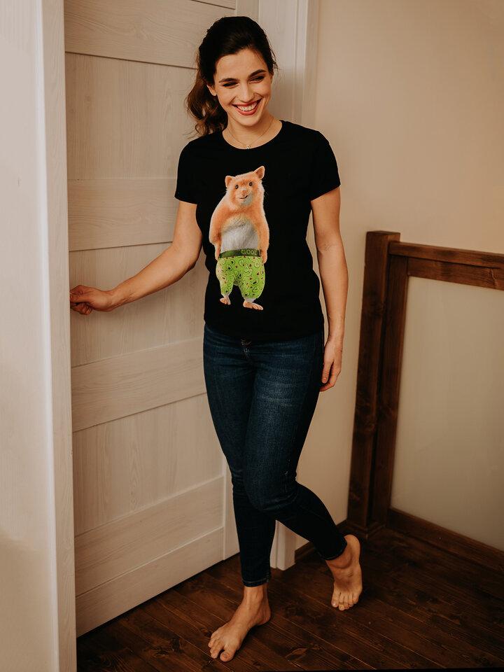 Obrázok produktu Vesela ženska majica Dedolesov hrček