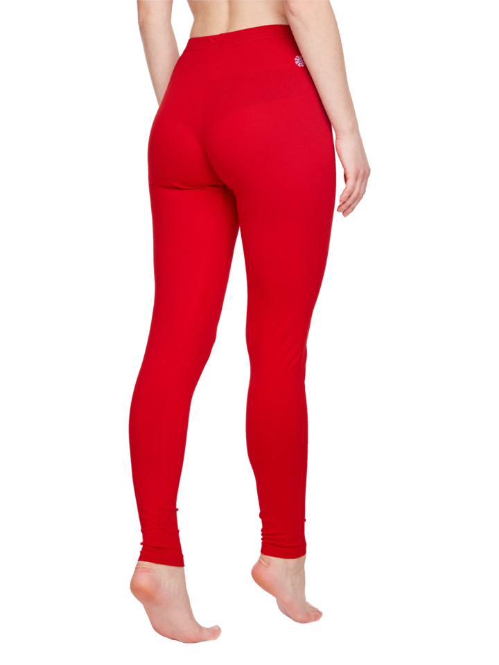 Looking for an original and unusual gift? The gifted person will surely surprise with Cotton Leggings Red