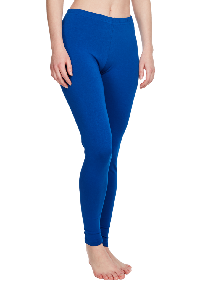 Lifestyle photo Dark Blue Cotton Leggings