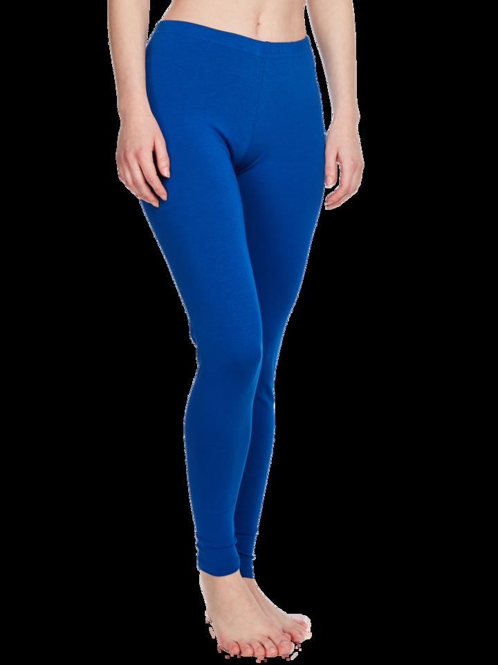 Lifestyle foto Legging en coton bleu royal