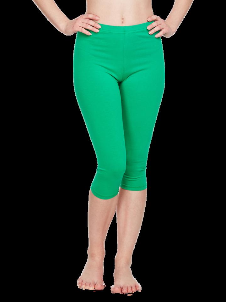 Tip na darček Legging corsaire en coton vert