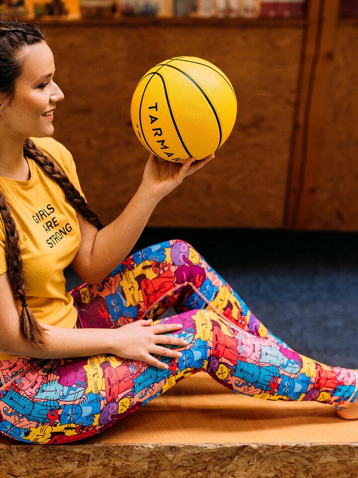 Potešte sa týmto kúskom Dedoles Leggings d'entraînement rigolos Chats colorés
