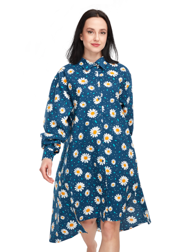 Gift idea Shirt Dress Daisy Blossom