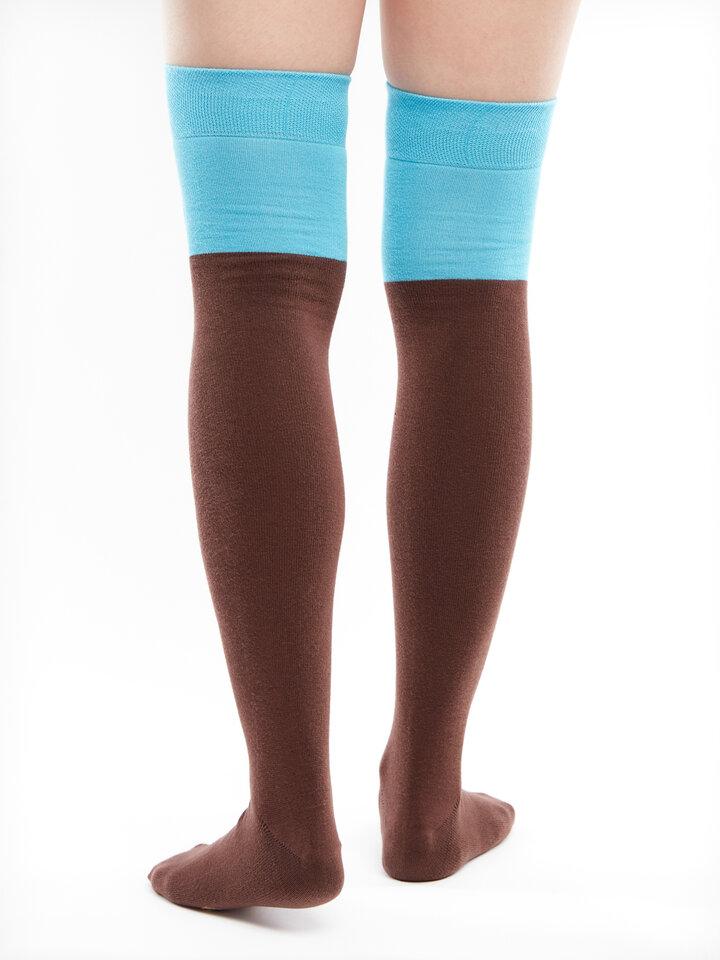 Gift idea Over the Knee Socks Owl