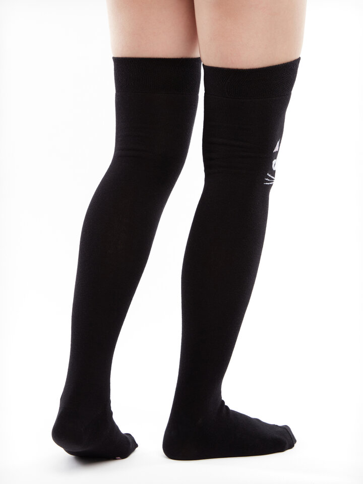 Sale Over the Knee Socks Magnificent Cat