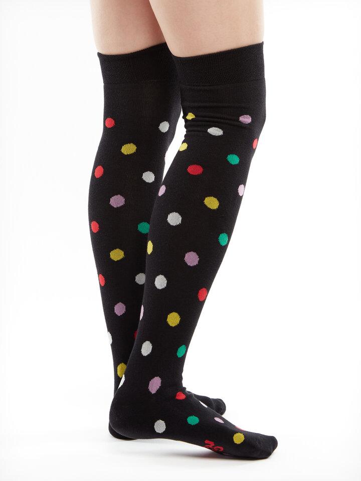 Potešte sa týmto kúskom Dedoles Over the Knee Socks Dots All Over