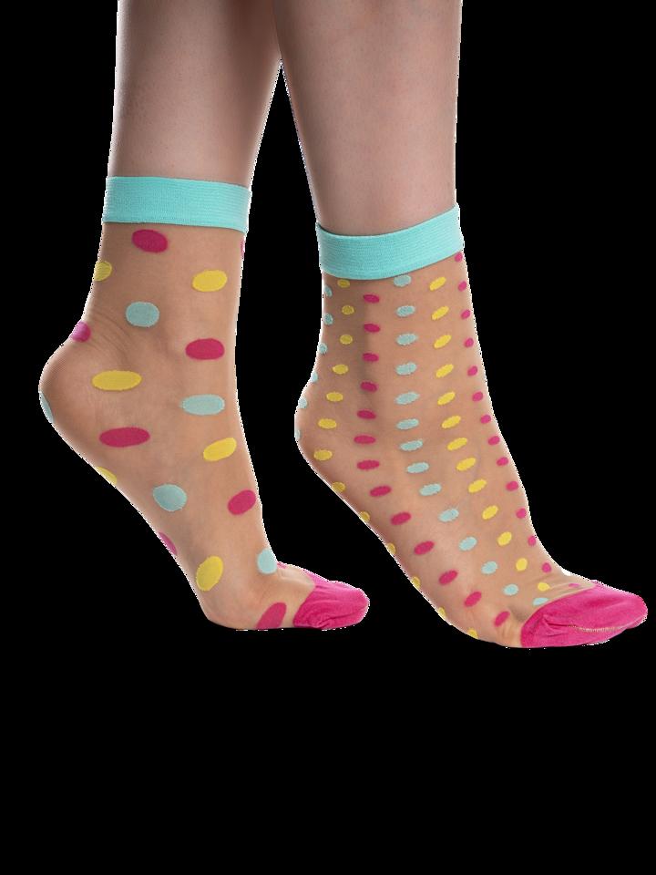 Sale Nylon Socks Dot World