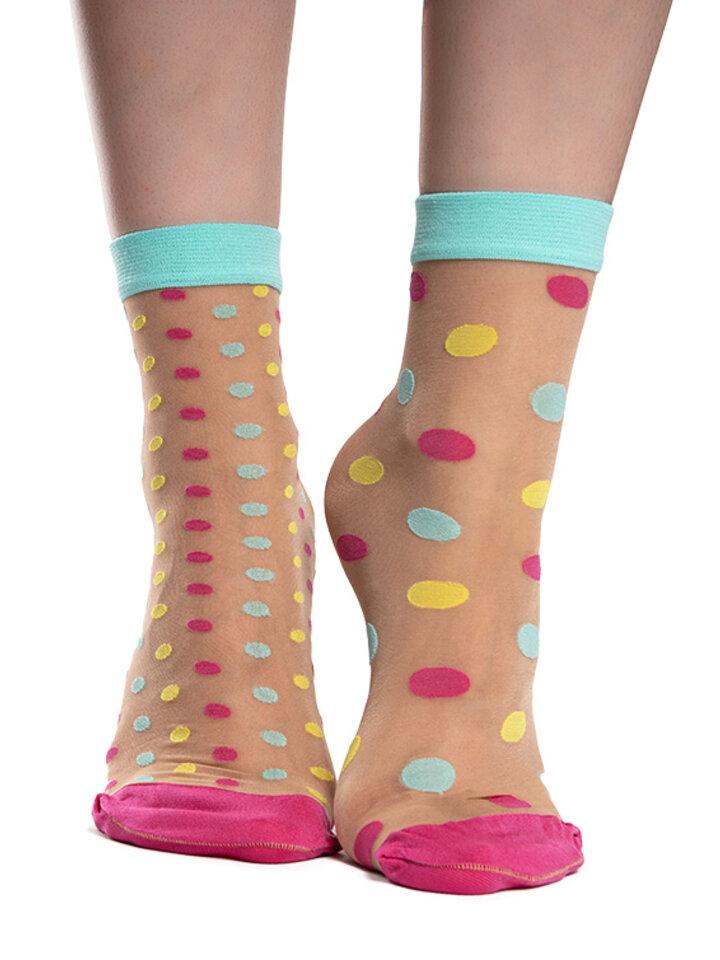 Potešte sa týmto kúskom Dedoles Vrolijke nylon sokken Dot World