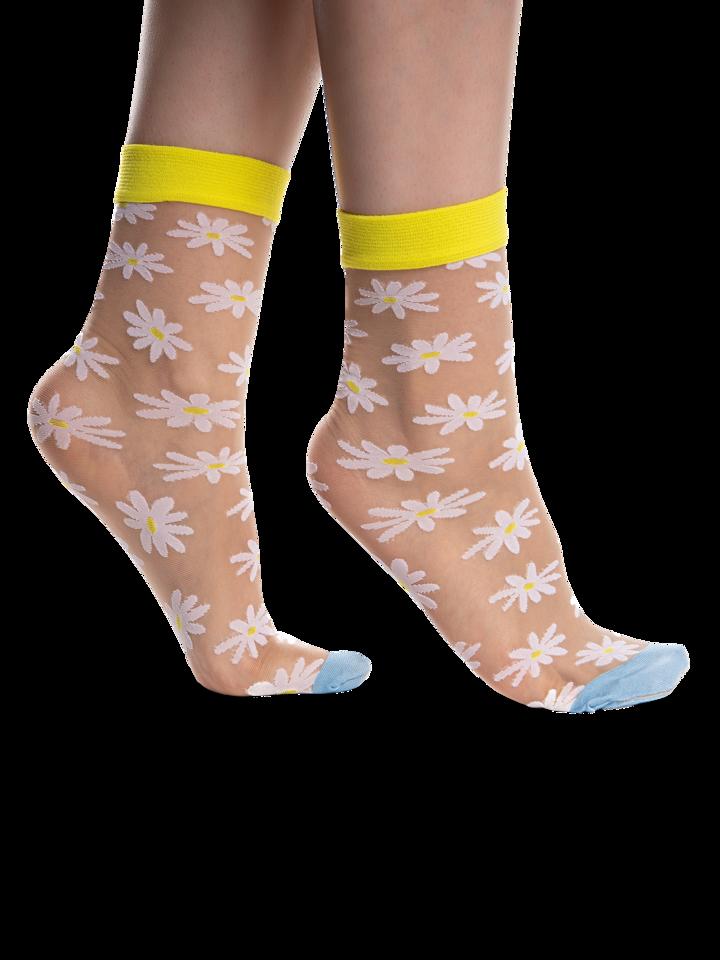 Obrázok produktu Vrolijke nylon sokken Madeliefjes