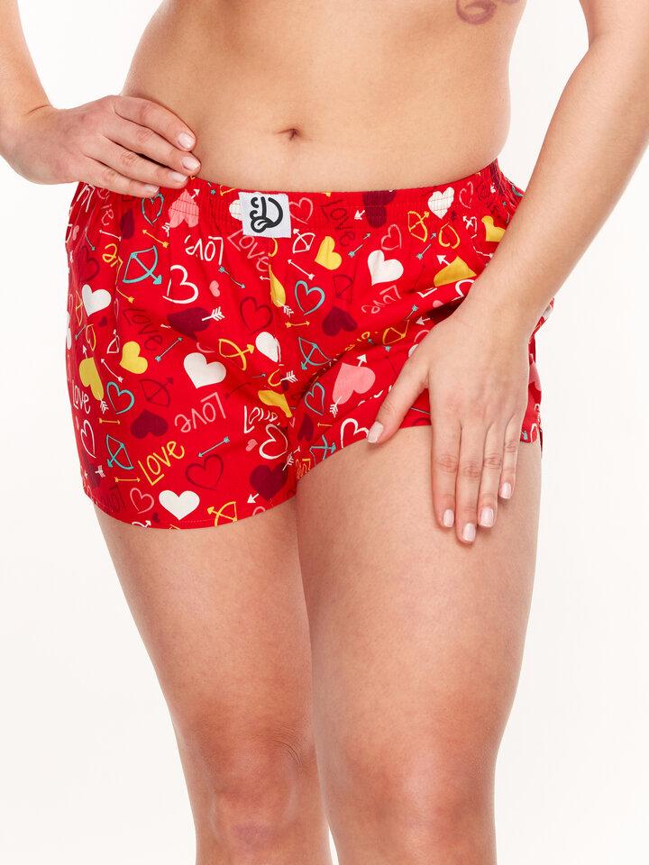 Sale Women's Boxer Shorts Hearts