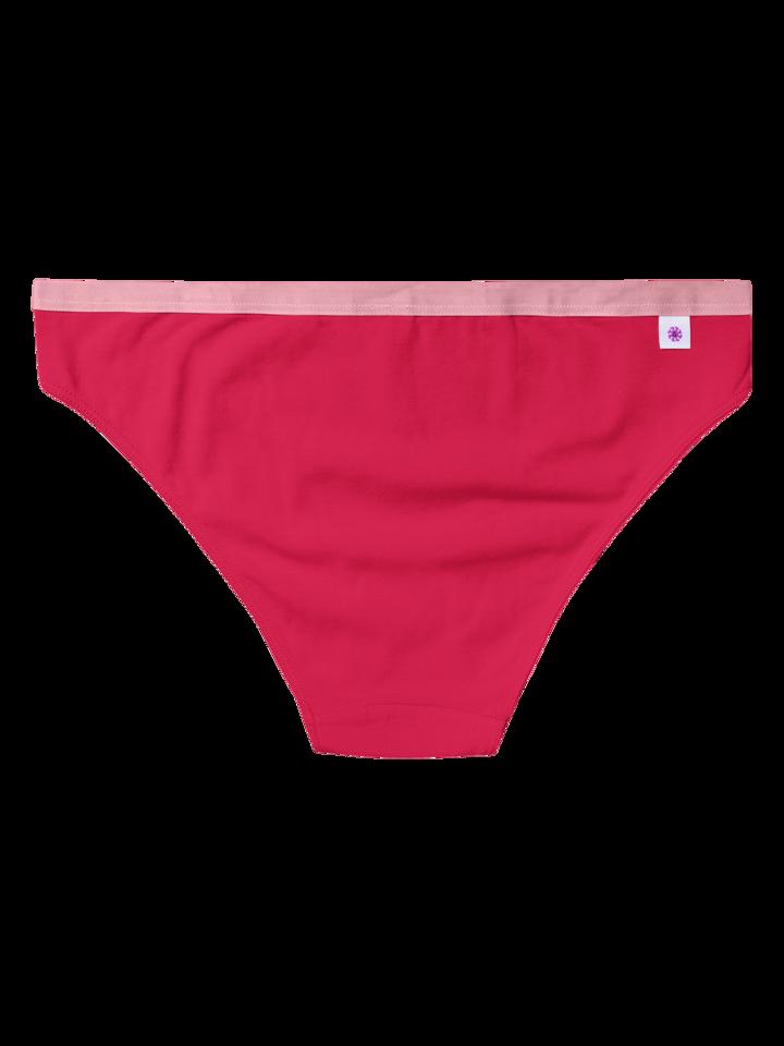 pentru outfit-ul perfect Chiloți Femei Roșu Purpuriu