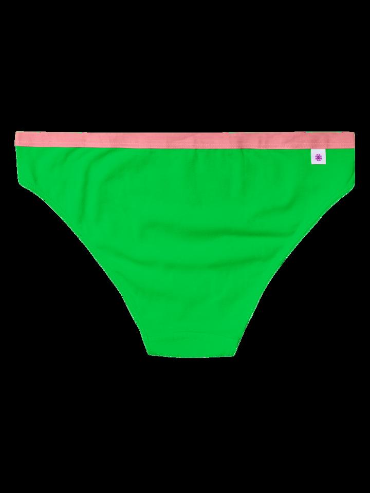 Výpredaj Bragas básicas alegres Verde neón