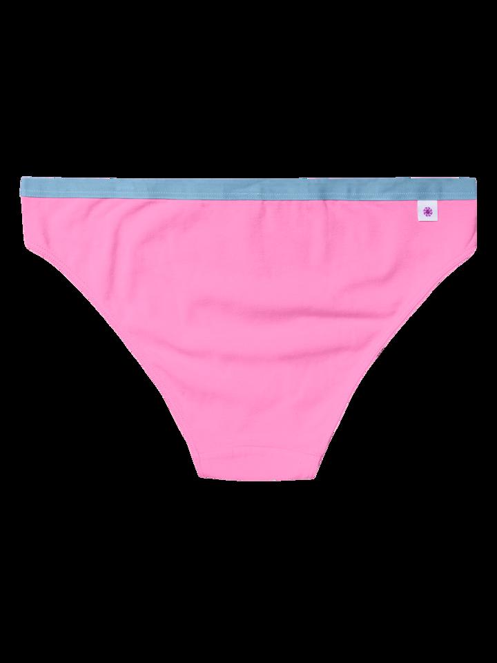 Pre dokonalý a originálny outfit Pink Women's Briefs