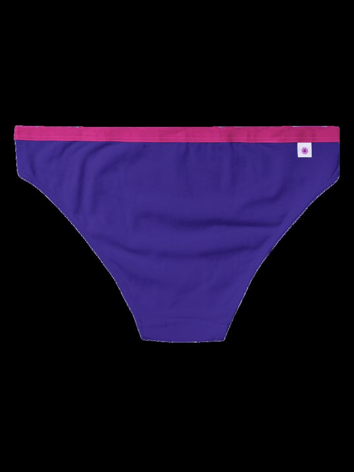 Obrázok produktu Ženske gaćice u indigo ljubičastoj boji
