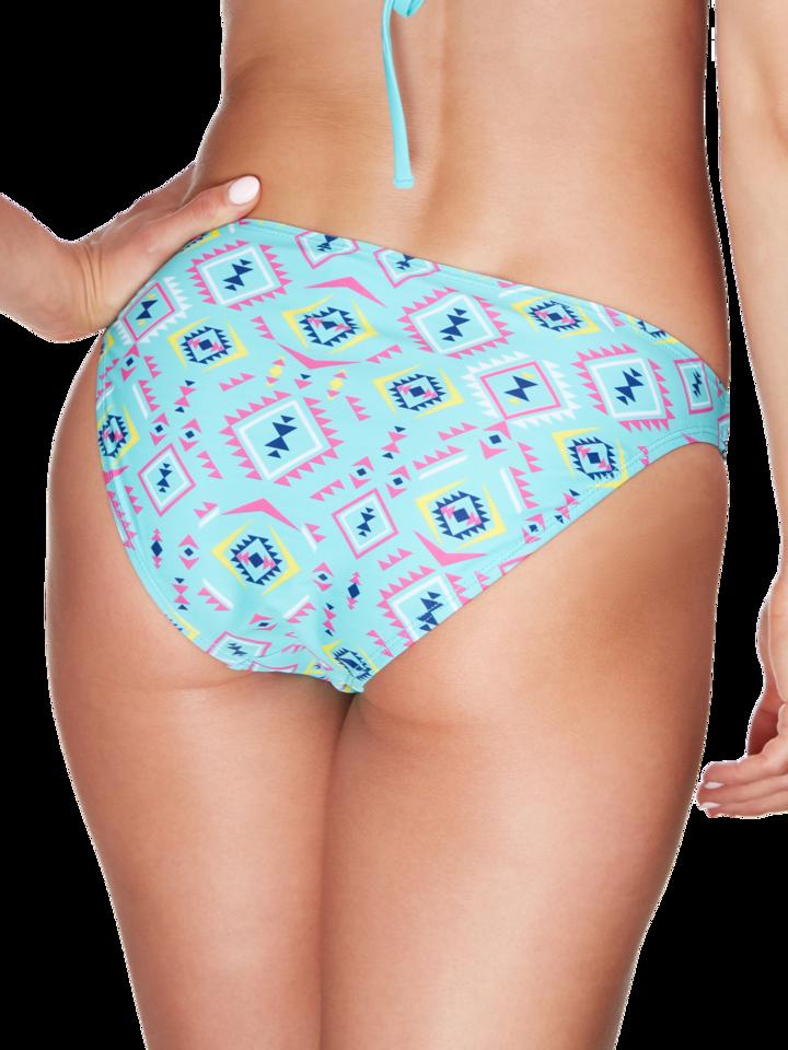 Szerezzen magának örömet ezzel a Dedoles darabbal Vidám bikini alsó Azték minta