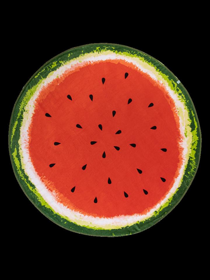 Obrázok produktu Весела кръгла плажна хавлия Свежа диня