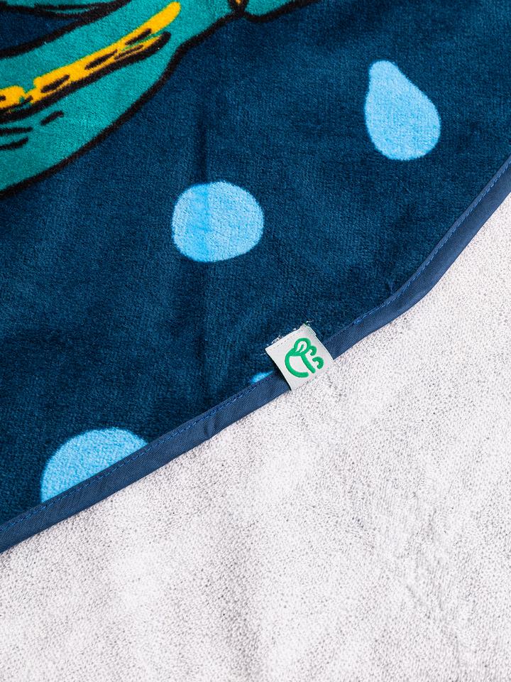 Tip na darček Veselý okrúhly plážový uterák Tropická džungľa