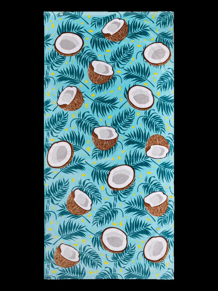 Lifestyle foto Veseli ručnik za plažu Kokos