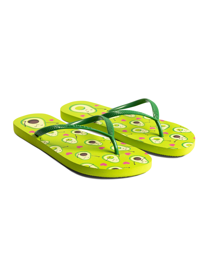 Sale Flip Flops Avocado Love