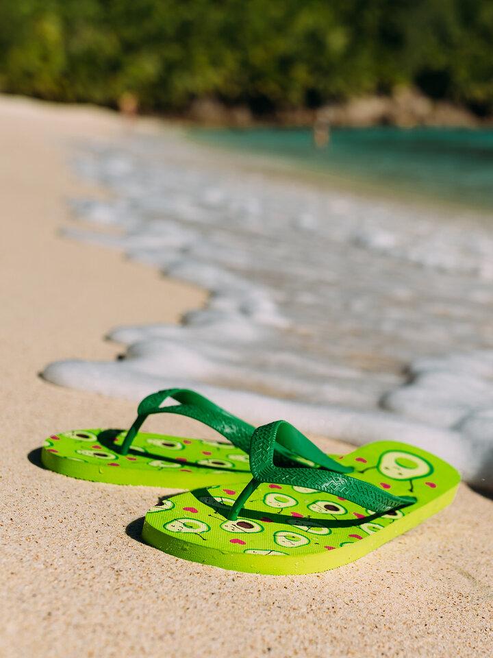 Gift idea Flip Flops Avocado Love
