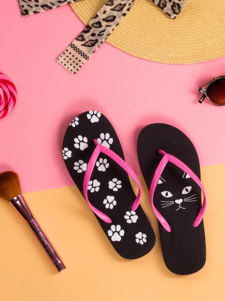 Tip na darček Vrolijke flip-flops Kitty