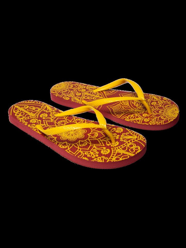 Bereiten Sie sich Freude mit diesem Dedoles-Stück Lustige Flip-Flops - Mandala