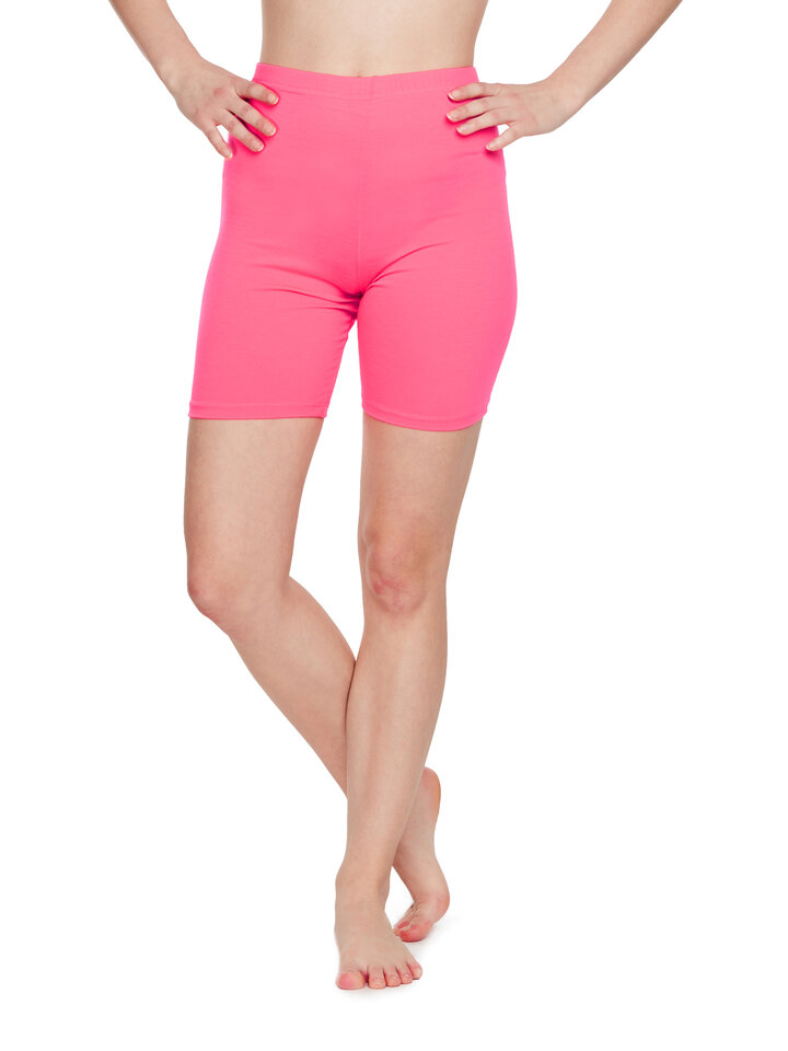 Sale Biker Shorts Neon Pink