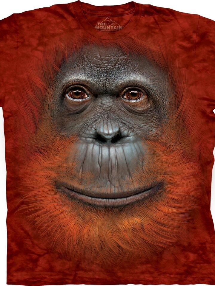 Lifestyle foto Tričko Obličej orangutana