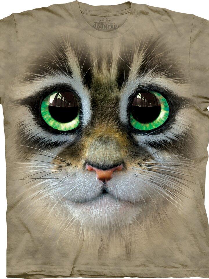 Geschenktipp T-Shirt Großäugiges Kätzchen