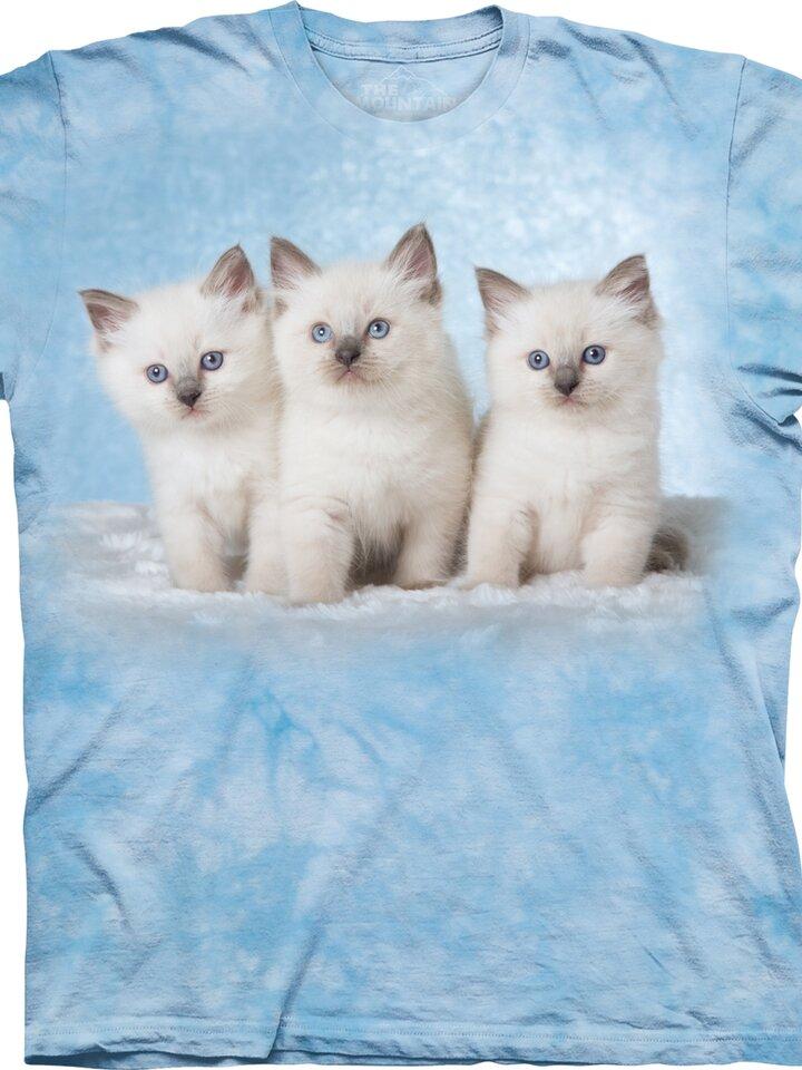 Lifestyle foto Tričko Mačiatka na obláčiku