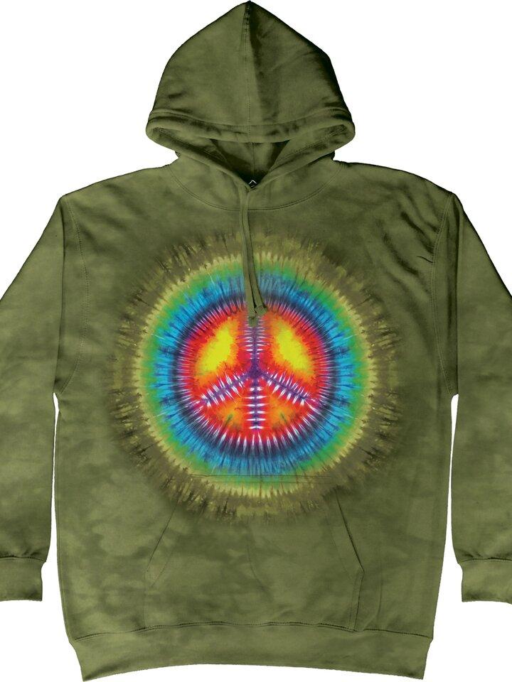 Pre dokonalý a originálny outfit Peace Tie Dye Adult