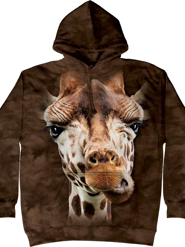 Tip na dárek Mikina Žirafa s kapucí