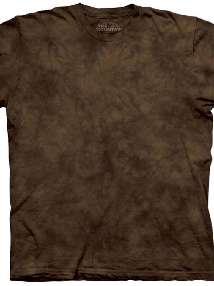 Foto Tričko s odstínem hnědé