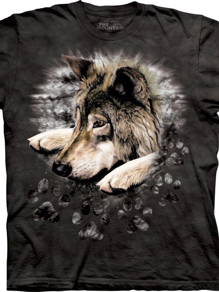 Bereiten Sie sich Freude mit diesem Dedoles-Stück T-Shirt Trauriger Wolf