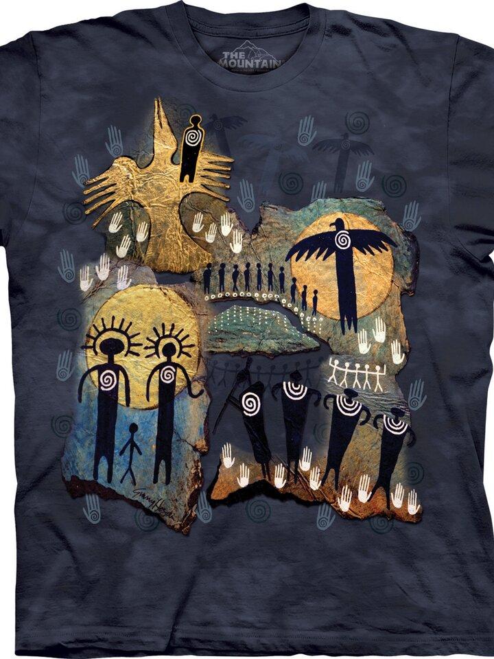 pro dokonalý a originální outfit Tričko Let šamana