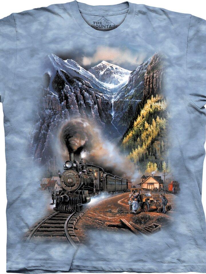 Kedvezmény Vonat a hegyekben póló