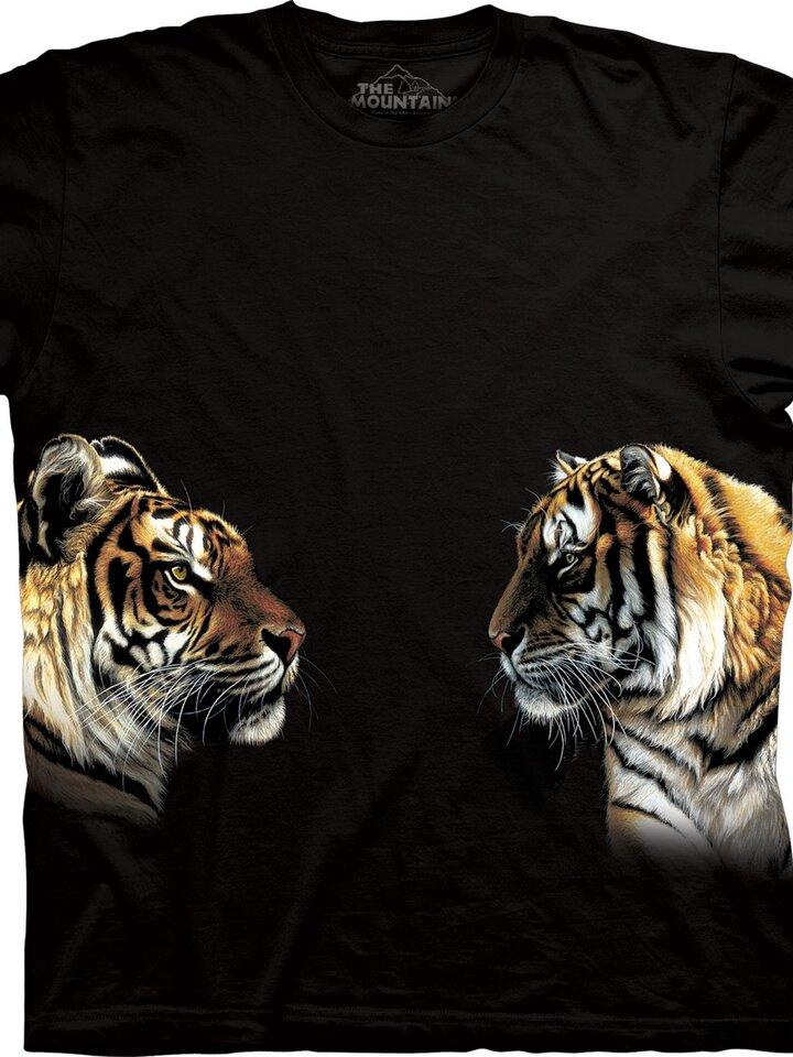 Bereiten Sie sich Freude mit diesem Dedoles-Stück T-Shirt Zwei Tiger