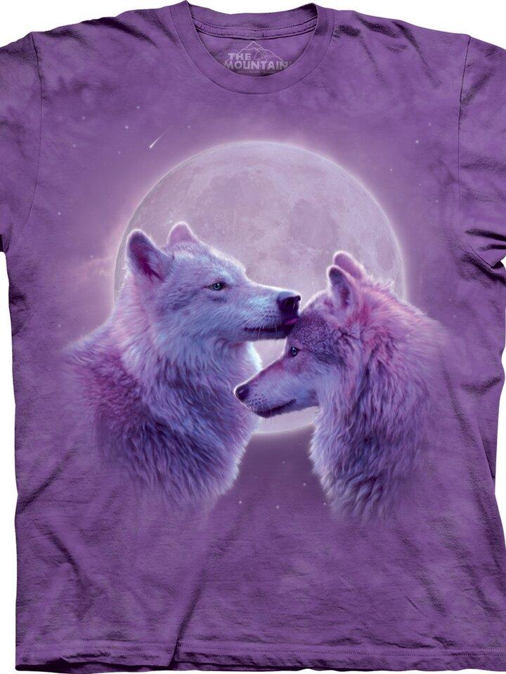 Foto Tričko Milující vlci