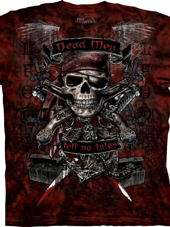 Výpredaj Tričko Mŕtvi nerozprávajú