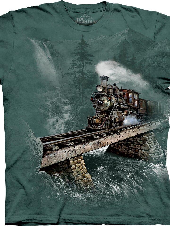 für ein vollkommenes und originelles Outfit T-Shirt Lokomotive