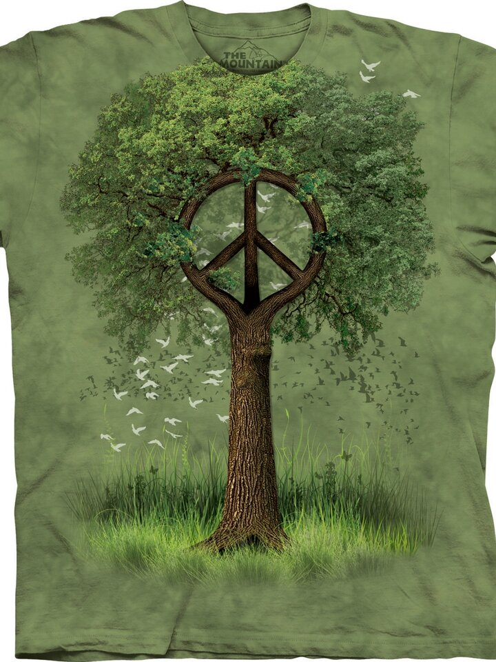 für ein vollkommenes und originelles Outfit T-Shirt Friedenwurzel