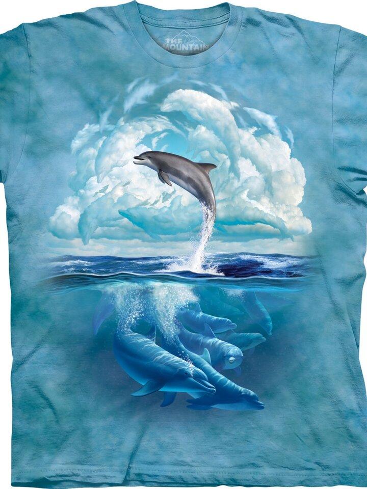 Geschenk von Dedoles T-Shirt Delphin-Himmel