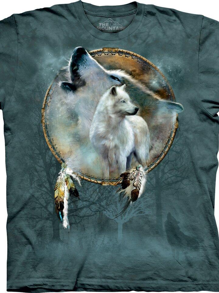 Foto T-Shirt Wilder Wolfgeist