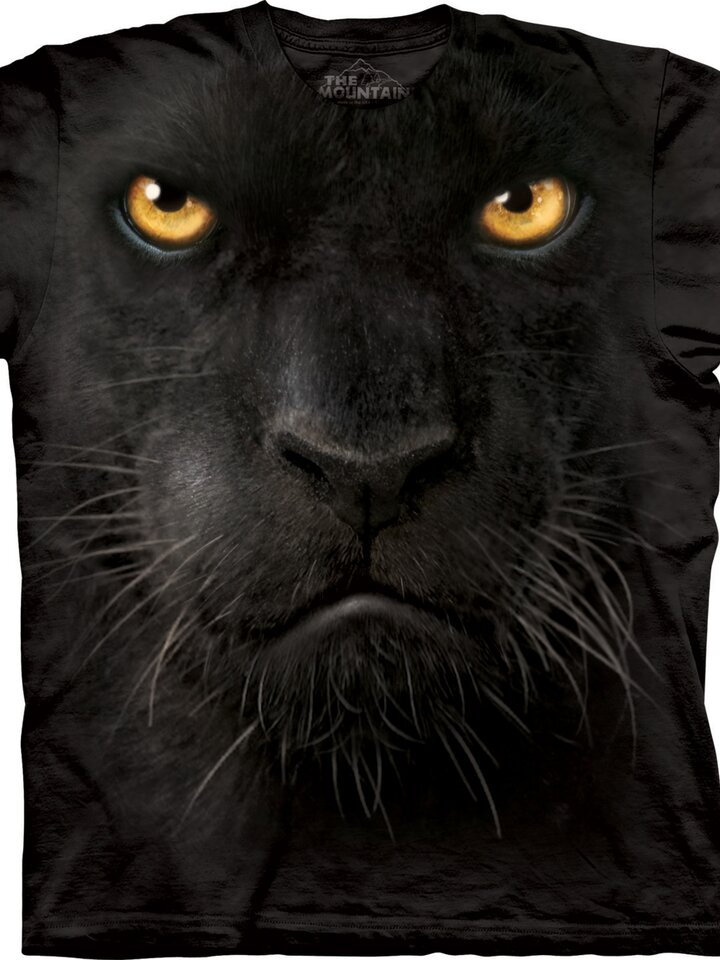 Lifestyle foto Tričko Tvár čierneho pantera