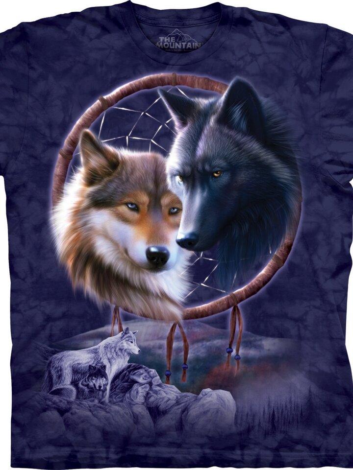 Suchen Sie ein originelles und außergewöhliches Geschenk? überrascht den Beschenkten sicher Dreamcatcher Wolves Adult
