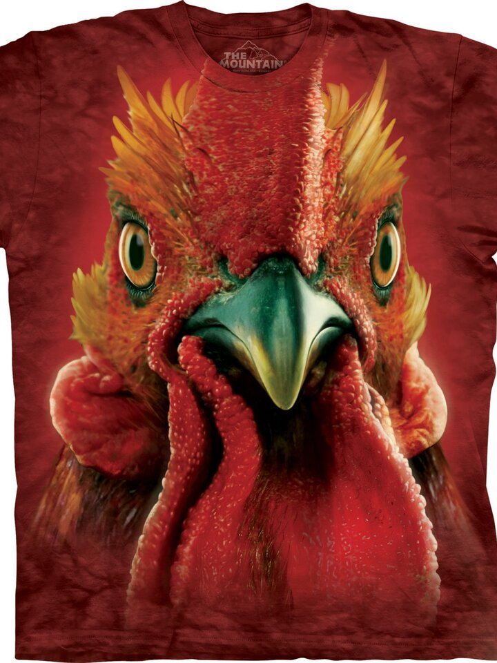 pentru outfit-ul perfect Rooster Head Adult