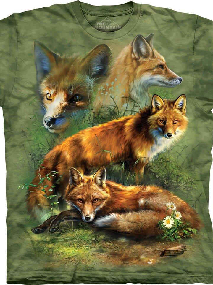 pro dokonalý a originální outfit Tričko Červená liška