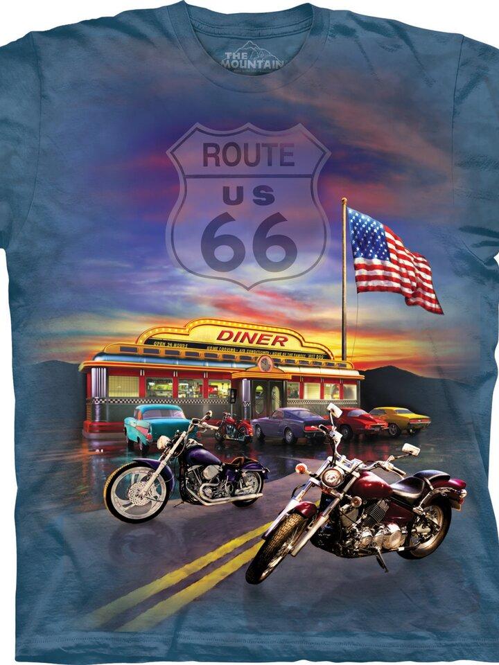 für ein vollkommenes und originelles Outfit T-Shirt Route 66